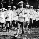 Красное Село Николай II на маневрах