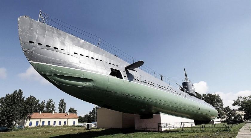 подводная лодка - музей