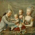Павловск 1781. Великий князь Павел Петрович и Великая княгиня Мария Федоровна с сыновьями (2)