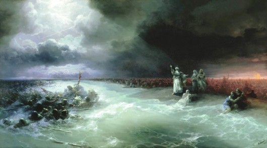 Переход через Красное море. Айвазовский