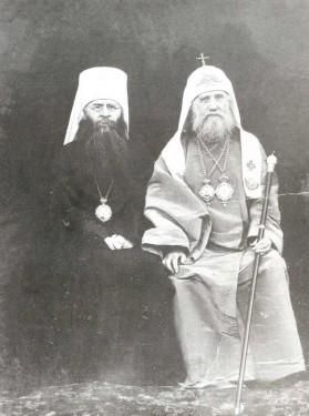 Святейший Патриарх Тихон и митрополит Сергий (Страгородский)
