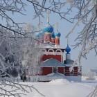 Углич. Церковь Димитрия на крови зимой