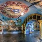 Углич. Церковь Димитрия на крови. 1693 год интерьер