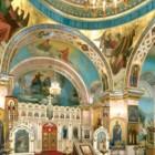 Вартемяги храм Веры Надежды Любови и Софии интерьер