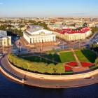 Васильевский остров стрелка Биржа