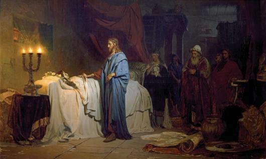 Воскрешение-дочери-Иаира.-И.-Репин.-1871-г.