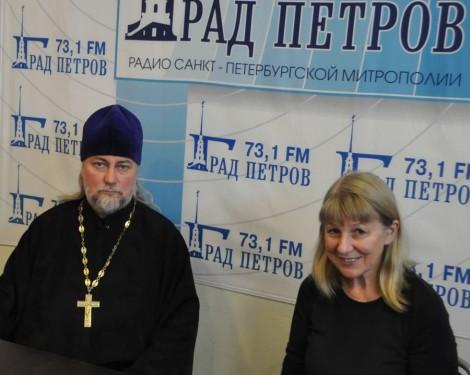 отец Петр Коломейцев и Людмила Зотова