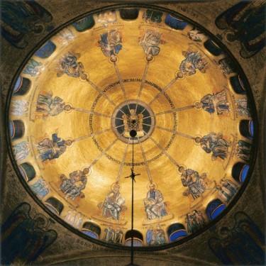 Пятидесятница. Мозаичный свод. Собор св. Марка, Венеция