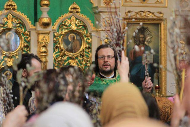 Рябков 2016 Вербное воскресенье