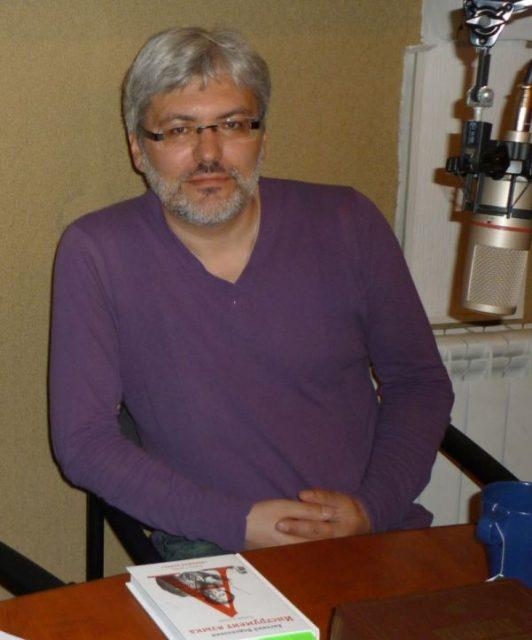 Евгений Водолазкин на радио Град Петров