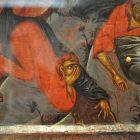 Фрагмент иконы «Преображение» из Праздничного ряда иконостаса. Византия. Местная мастерская в Кастории. Ок. 1400 г.  Византийский музей, Кастория