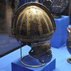 Шлем. Римская империя или Византия. Вторая половина VI в.  Государственный Эрмитаж