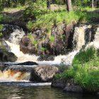 Рускеала водопад
