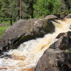 Рускеала водопад 2