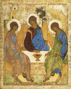 Троица. Икона Андрея Рублева