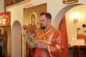 диакон Димитрий Александрович Шапошников Пасхальное богослужение
