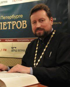 прот А Дягилев в студии радио Град Петров