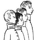 Лицеисты Рисунок Н.Рушевой 140