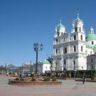 Беларусь Полоцк площадь