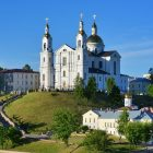 Беларусь Витебск лето Успенский собор