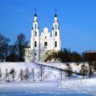 Беларусь Витебск зима