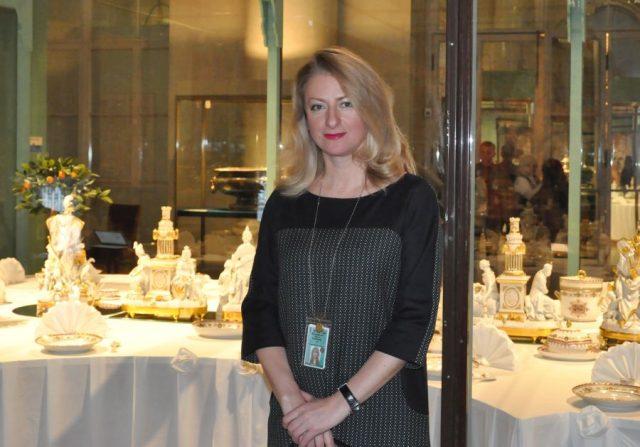 Куратор выставки Ирина Багдасарова