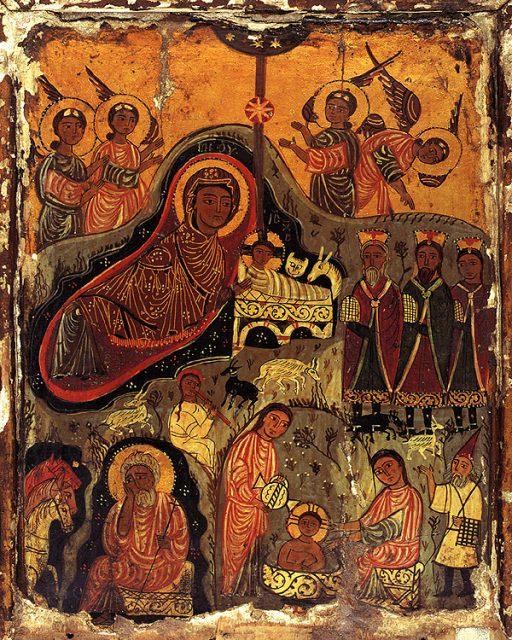 ikona-rozhdestvo-hristovo-vii-ix-v-monastyr-sv-ekateriny-sinaj