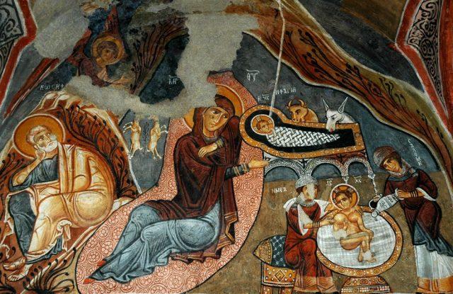 rozhdestvo-hristovo-freska-kappadokiya