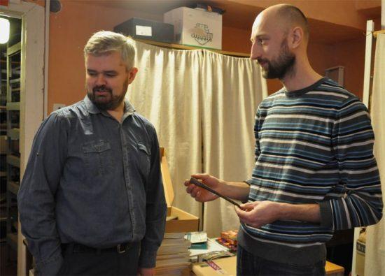 Илья Хохлов и Алексей Андриенко