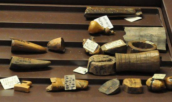 Предметы из археологической коллекции