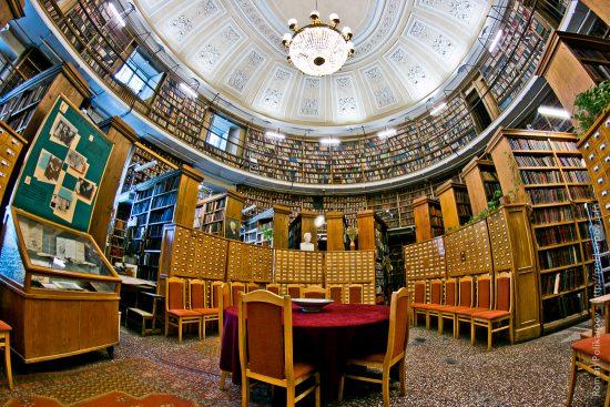 библиотека в питере фото