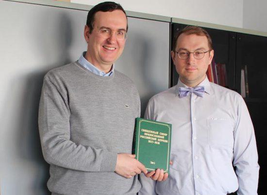 Адриано Роккуччи и Александр Мраморнов. Рим