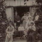 Семья Николаевских на даче в Корпиково 1908 год
