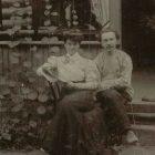 Отец Михаил с супругой.