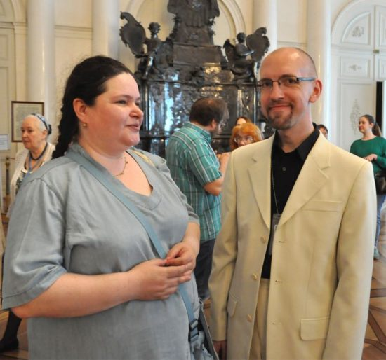 Екатерина Степанова и Кирилл Орлов