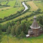 06 Никольская церковь в селе Лявля (Малые Корелы) - шатер на восьмерике