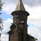 07 Успенская церковь в Кондопоге (1774) - шатровый храм восьмерик на четверике