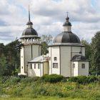 09 Церковь Воскресения Христова (1 пол 17 в) в д Курпово Подпорожского р-на