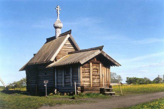 Клетская Лазаревская церковь в Кижах