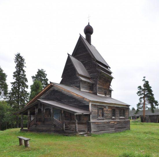Церковь Георгия Победоносца в с Юксовичи Подпорожского ра-на Ленинградской области