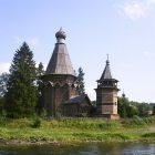 Церковь Николая Чудотворца д Согинцы Подпорожского р-на Ленинградской области