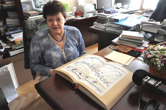 Людмила Николаевна Зинчук и факсимильное издание Чертежной книги Сибири