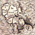[Сarta marine … Anno 1539, …Olaus Magnus…]. –Romae, Antоny Lafrery, 1572. Отдел картографии РНБ: К 0-Ск 3/36