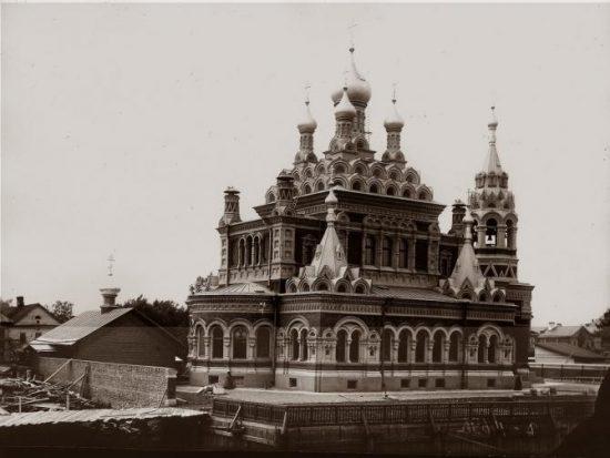 Скорбященская церковь на Стеклянном заводе