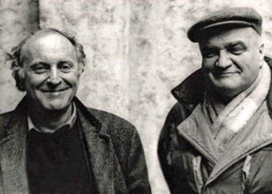 Иосиф Бродский и Вячеслав Иванов