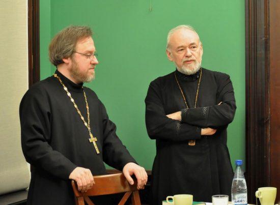 Свящ. Сергий Чарыков и прот. Александр Степанов