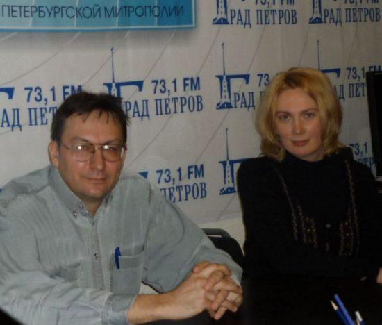 Андрей Рыжков и Марина Лобанова