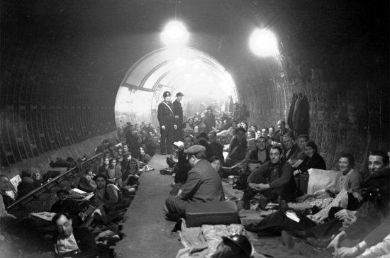 Лондонское метро, 1940 год