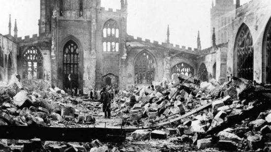 Руины собора в Ковентри
