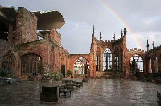 Восстановленный собор в Ковентри
